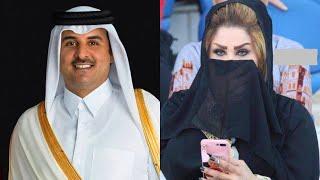 Katar Kralının Eşinin Kim Olduğunu Öğrenince Şok Olacaksınız.  3 KARISI VAR