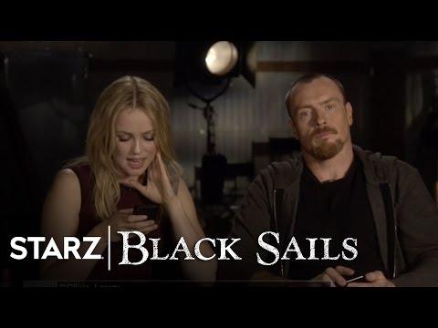 Black Sails  The Cast Read Your Tweets  STARZ