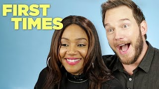 Download Chris Pratt and Tiffany Haddish Tell Us About Their First Times Mp3 and Videos