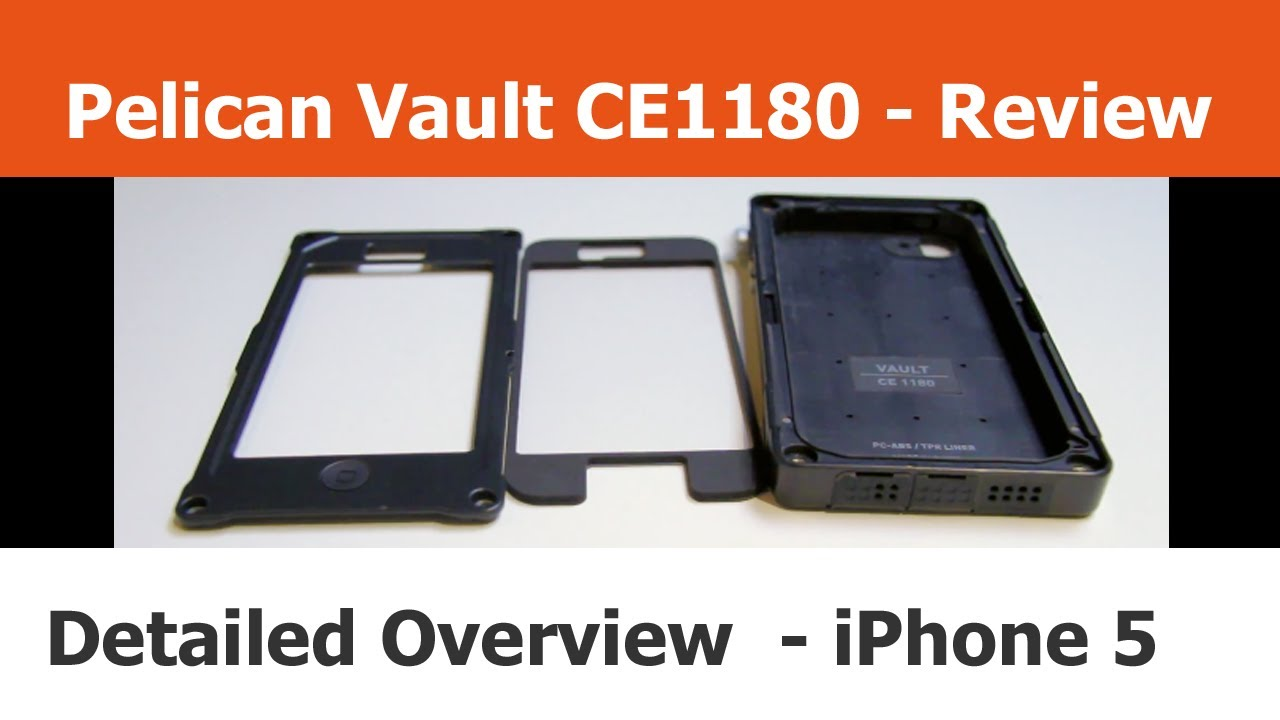 the latest b1fa2 b7666 Pelican CE1180 Vault Series - Close Up - iPhone Cases