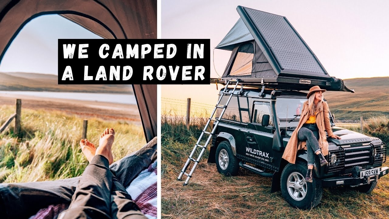 Download Land Rover Camping on the Isle of Skye Vlog