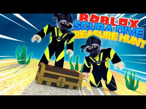 ROBLOX Adventure - SCUBA DIVING WITH LITTLE LIZARD!!!
