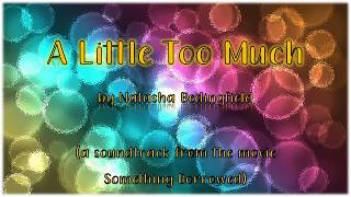 A Little too Much by Natasha Bedingfield | Lyric Video