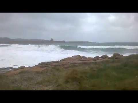Viveiro registra vientos de 130 Km/h