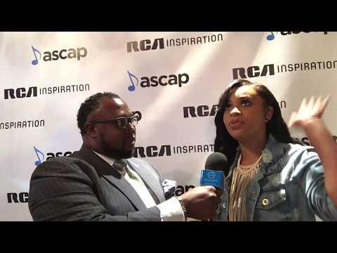 Koryn Hawthorne at the 2017 RCA & ASCAP Dove Awards Reception