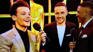 Louis Tomlinson talks about his baby and Liam Payne is drunk - BRIT Awards 2016