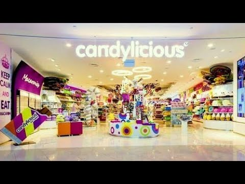 Welcome To The Biggest Biggest Candy Shop  In The World .....!!  Dubai