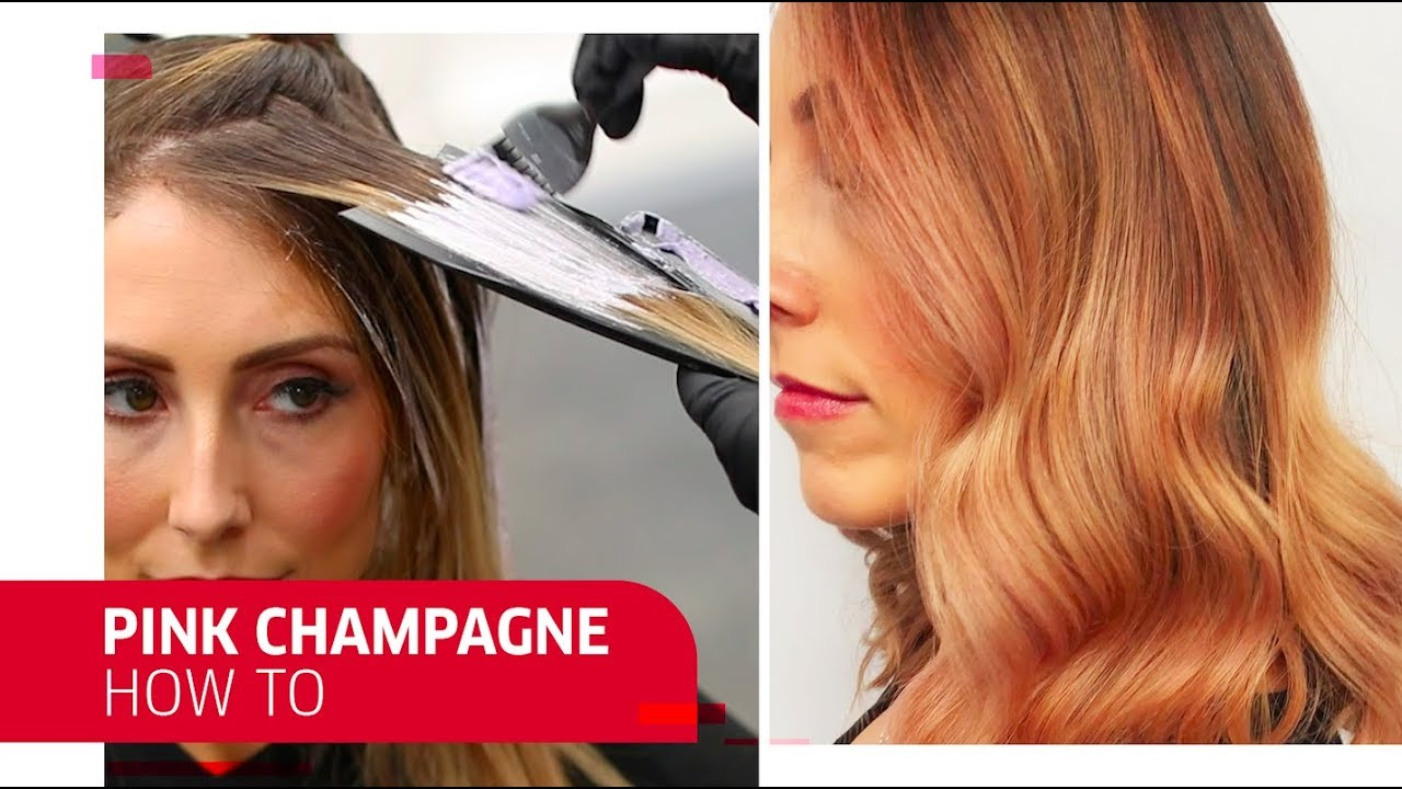 How To Rock Pink Champagne Hair Wella Professionals Youtube