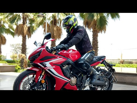 Honda CBR650R Traction Control Test, 6th Gear Test And Detailed Ride Review | DCV