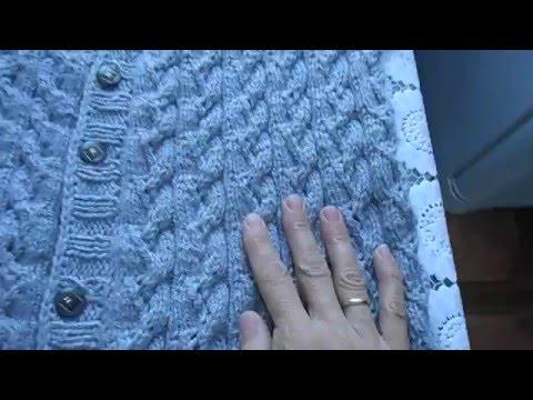 видео: Женский жилет из кавказской пряжи