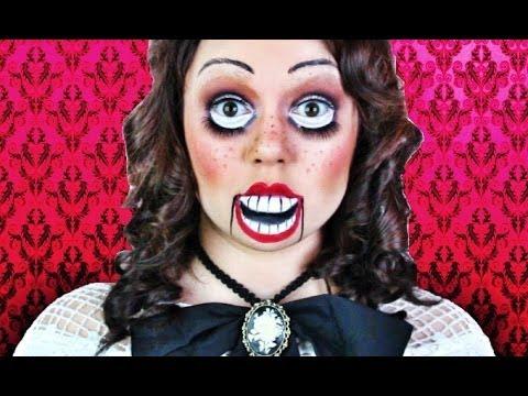 creepy dummy doll makeup tutorial youtube. Black Bedroom Furniture Sets. Home Design Ideas