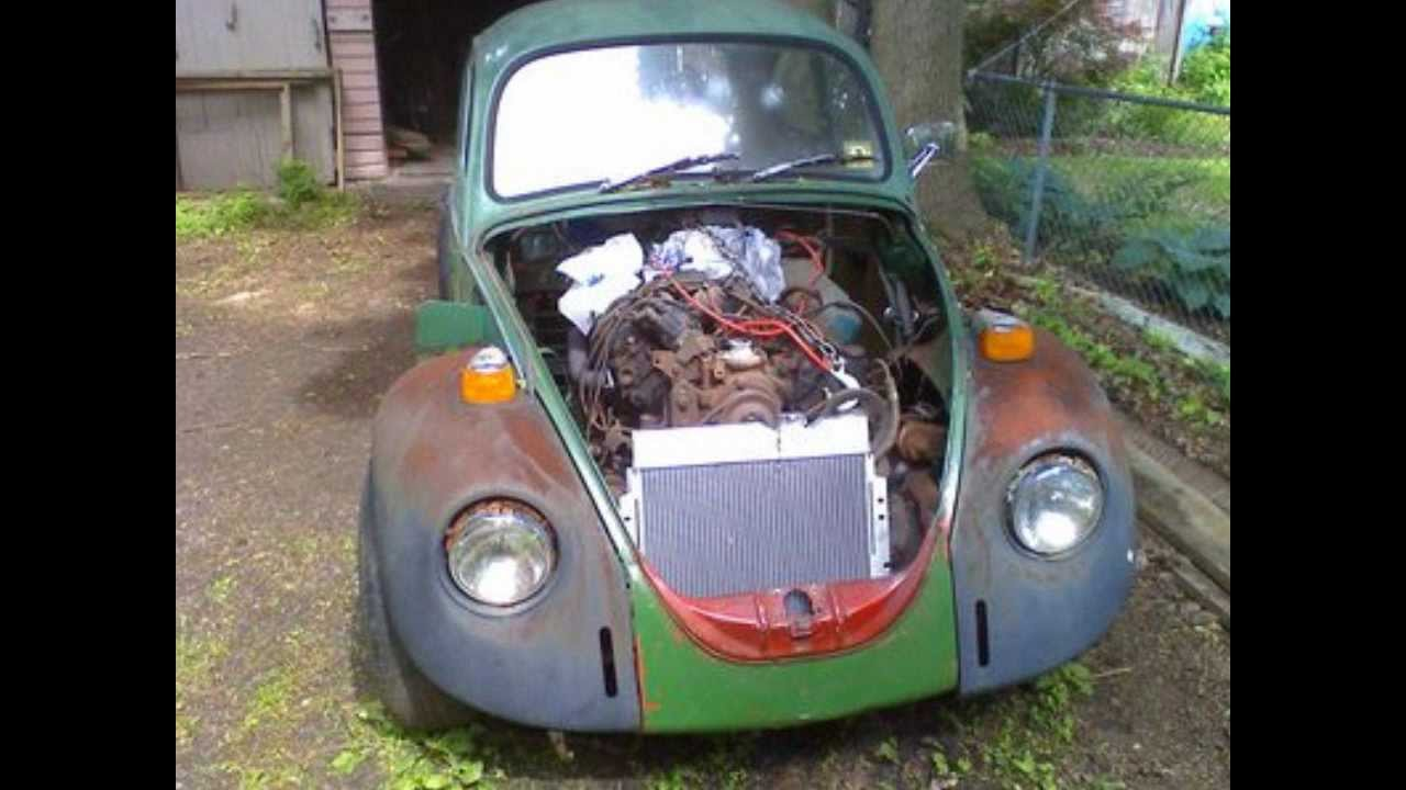 Special cars volkswagen beetle bug v8 - Vw Beetle The Build Angry Herby