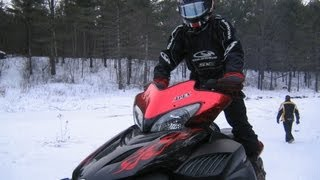 FAST Yamaha Apex  vs.  NEW SKi-Doo 800 E-TEC