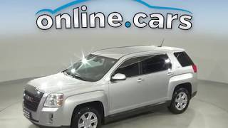 A13099PT Used 2014 GMC Terrain SLE-1 FWD 4D Sport Utility Silver Test Drive, Review, For Sale