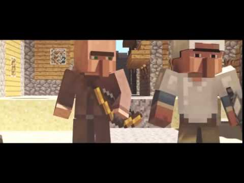 Minecraft Song ''Dragon'' Parody of Radioactive!