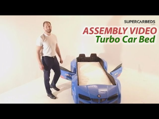 Race Car Bed - Assembly Video - www.supercarbeds.com