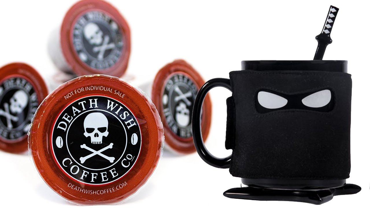 Ninja Coffee The Death Mugamp; Wish eWED2IH9Y