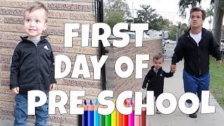 FIRST DAY OF PRE SCHOOL: VLOG 210