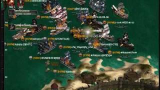 Seafight Alianza X tirando isla BTA