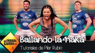 Pilar Rubio baila la 'haka' del rugby - El Hormiguero 3.0