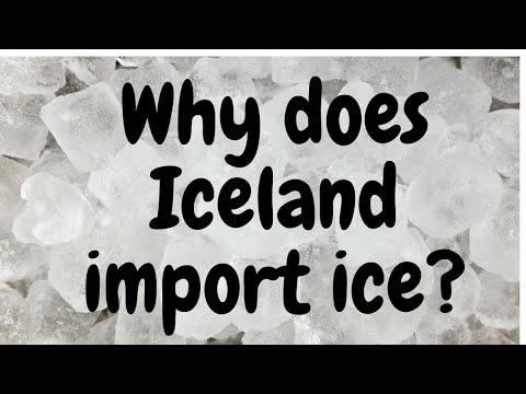 iceland country - Why does iceland import Ice? - Hindi #iceland