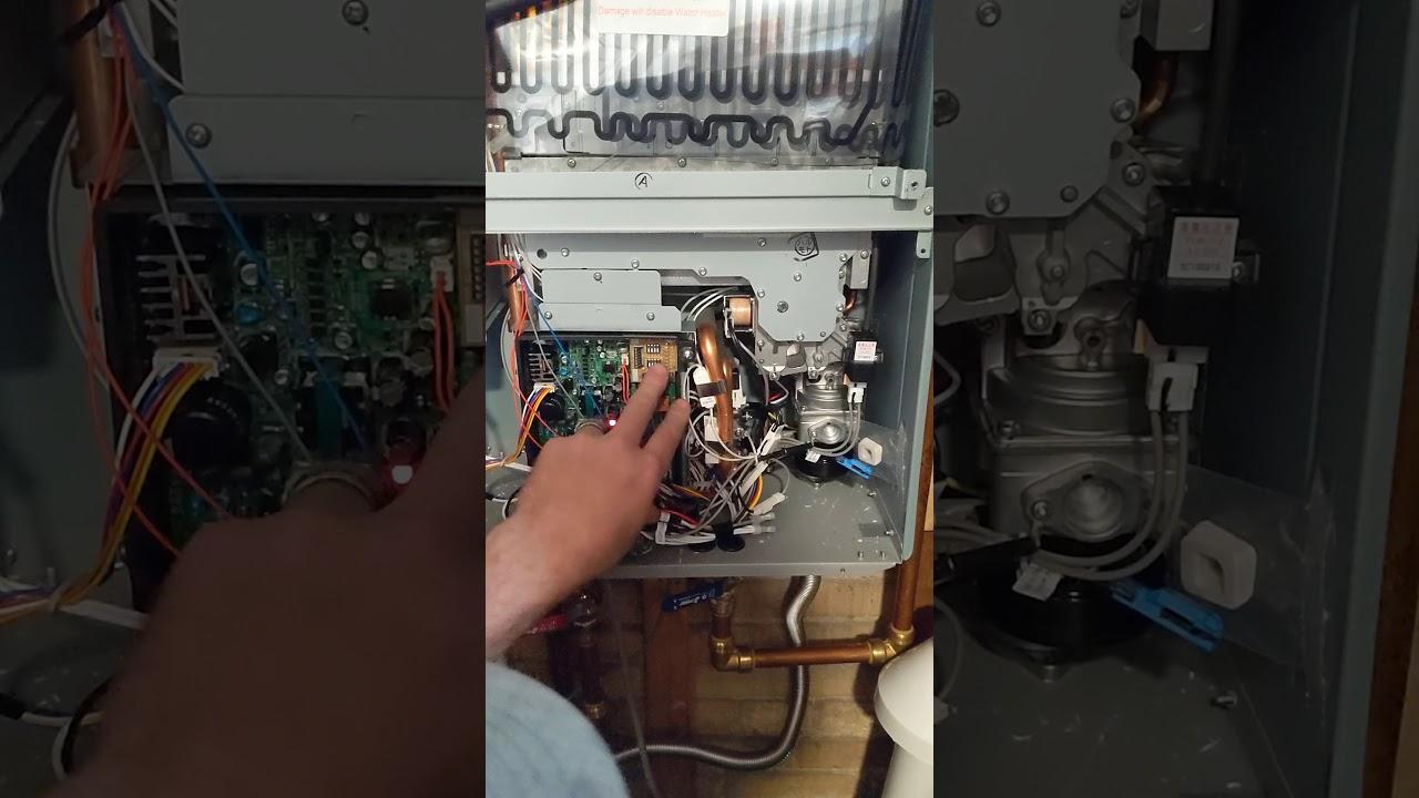 Hard Reset Rheem Tankless 99 Error Code Youtube