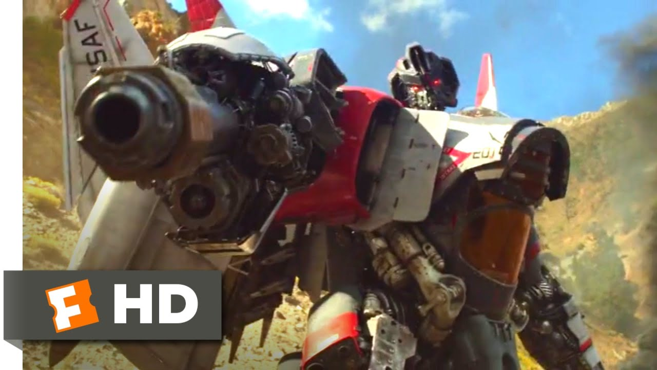 Bumblebee (2018) - Bumblebee vs. Blitzwing Scene (2/10)   Movieclips