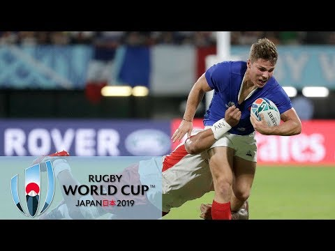 Rugby World Cup 2019: France Vs. Tonga | EXTENDED HIGHLIGHTS | 10/06/19 | NBC Sports