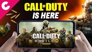 CALL OF DUTY Mobile is Finally HERE!! Gameplay (How To Download)
