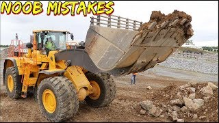 How NOT to run a Wheel loader - mistakes, errors and red flags