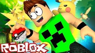 Roblox: O MUNDO DO POKEMON GO !! - (ROBLOX Pokemon GO)