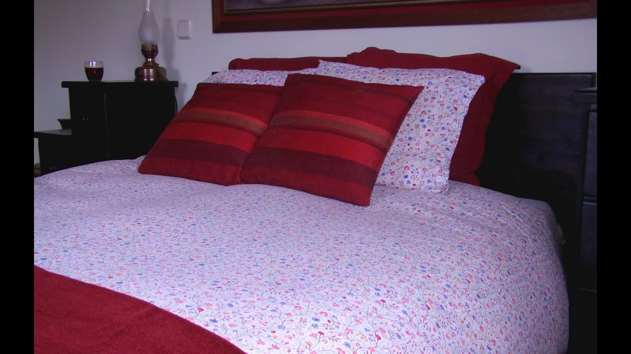 Decoraci n de camas matrimoniales facil y a buen precio youtube - Decoracion pared cama ...