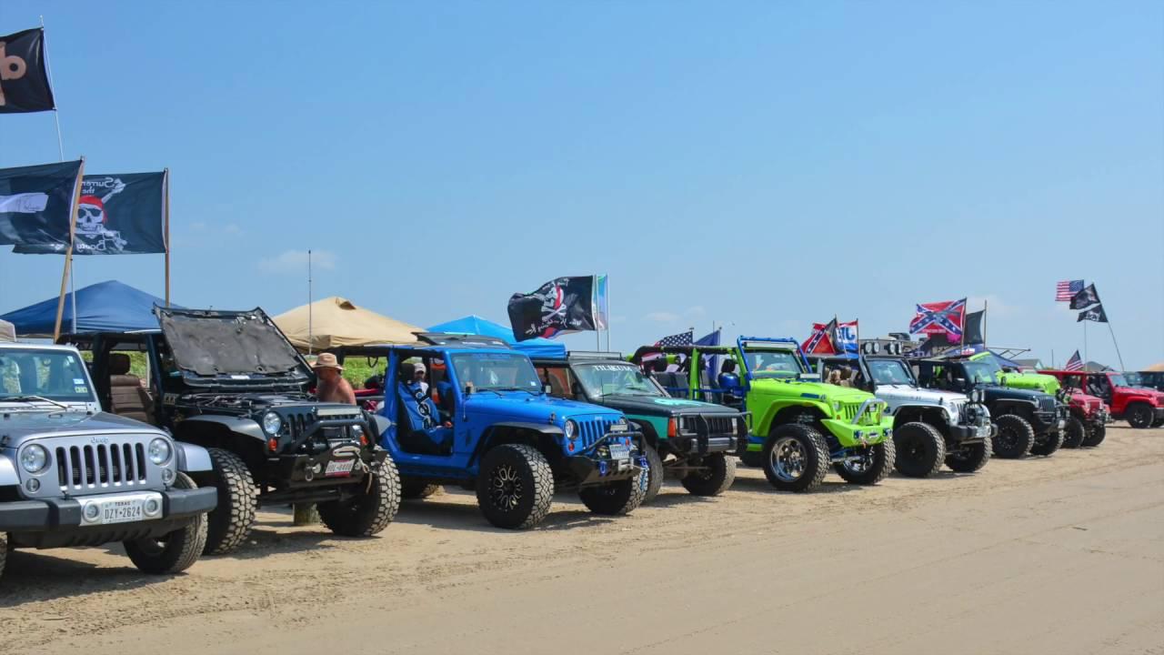 Go Jeep 2017 Crystal Beach, Texas - YouTube