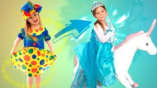 Adelya is going to the PRINCESS BALL | Elya & Adelya Kids Show