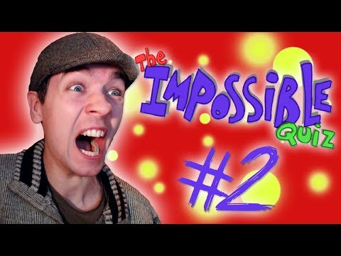The Impossible Quiz - Part 2   I HATE THIS GAME!!