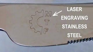 Laser Engraving (etching) Stainless Steel With Budget 15W Laser Engraver (Ortur Laser Master)