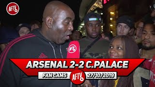 Arsenal 2-2 Crystal Palace | Xhaka Doesn't Deserve To Be Captain!
