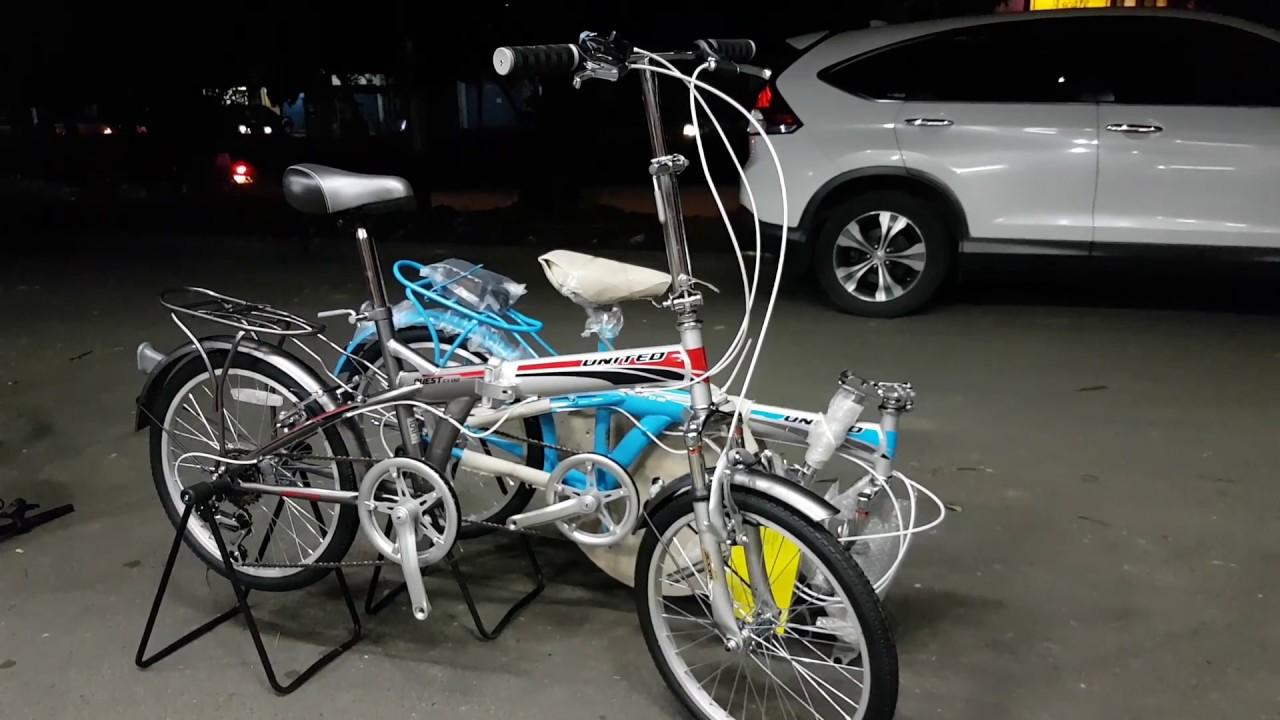 Sepeda Lipat United Quest 20 Inch Terbaru Youtube
