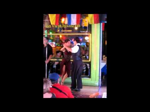 Tango Dancing in a Restaurant in Buenos Aires, Argentina