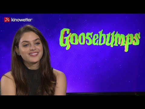Interview Odeya Rush GOOSEBUMPS