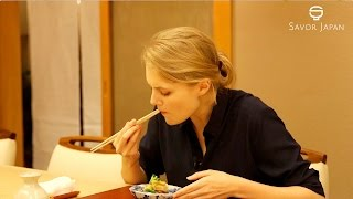 Learn from the master chef How to eat -KAISEKI-