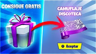 CAMUFLAJE GRATIS , COLOCA 13 DISPOSITIVOS EN MODO CREATIVO FORTNITE REGALO DIA 13 / FORTNITE