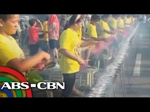 Pangasinan town bags new Guinness record