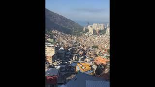 Moradores se assustam com tiroteio na comunidade da Rocinha, no Rio, na manhã deste domingo
