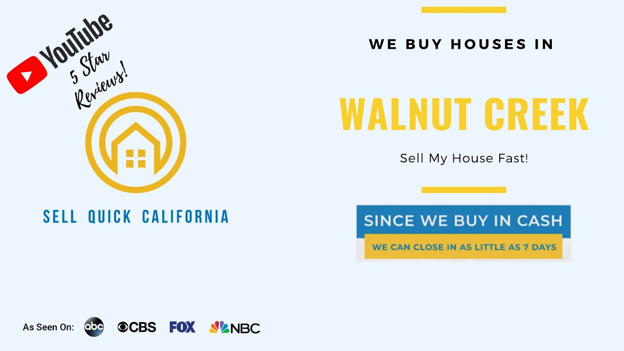We Buy Houses In Walnut Creek California [Real Estate Investor Property Walk Through]