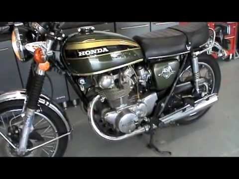 SergesAutoSales SOLD 73 Honda CB450 For Sale
