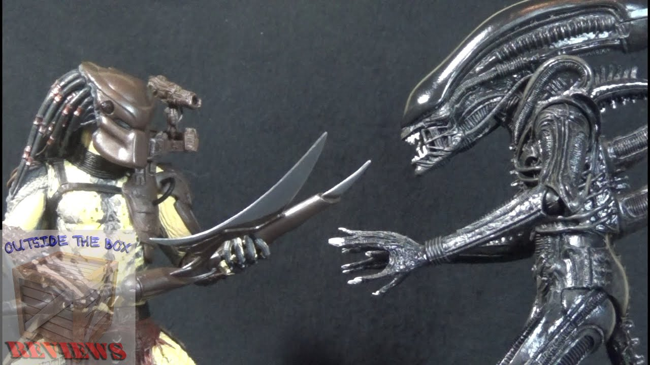 Predator Toys R Us : Quot alien vs predator kenner tribute neca and