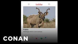 More Cow Tinder Profiles - CONAN on TBS