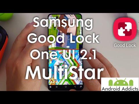 Samsung Good Lock (2020) One UI 2.1 - MultiStar