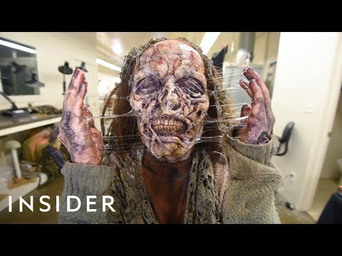 How A Hollywood Makeup Artist Turns Actors Into Zombies